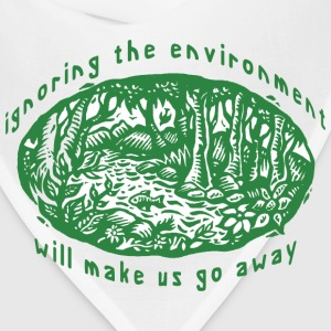 Earth Day Environment T-Shirt - Bandana