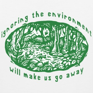 Earth Day Environment T-Shirt - Men's Premium Tank