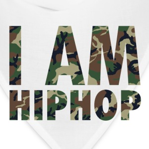 I Am Hiphop -  camo - Bandana