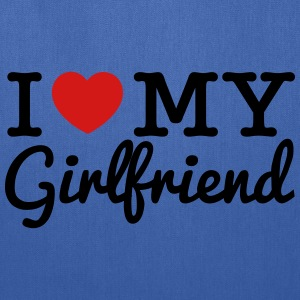 I Love My Girlfriend - Tote Bag