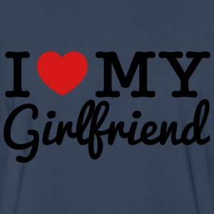 I Love My Girlfriend - Men's Premium Long Sleeve T-Shirt