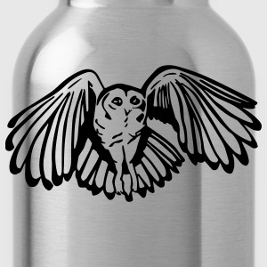 Tawny Owl Mens Standard T-shirt Red - Water Bottle