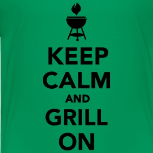 Keep calm and grill on Kids' Shirts - Toddler Premium T-Shirt