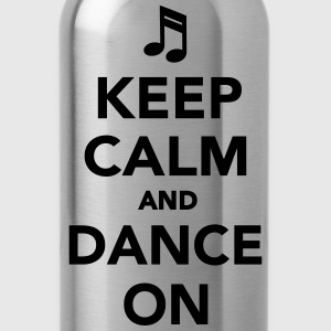 Keep calm and dance on Kids' Shirts - Water Bottle