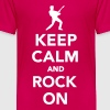 Keep calm and Rock on Kids' Shirts - Kids' Premium T-Shirt
