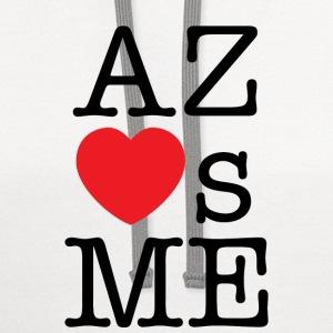 Arizona Loves Me T-shirt - Contrast Hoodie