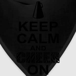 keeep calm and cheer on T-Shirts - Bandana