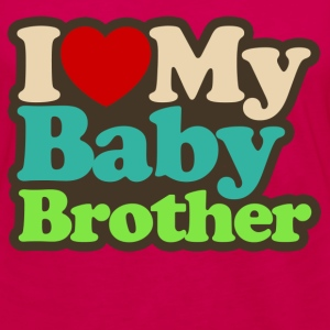 i love my baby brother - Women's Premium Long Sleeve T-Shirt
