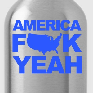 American F YEAH - Water Bottle