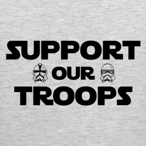 Support our troops - Men's Premium Tank