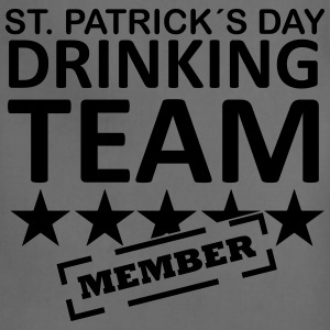 st. patrick´s day drinking team member T-Shirts - Adjustable Apron