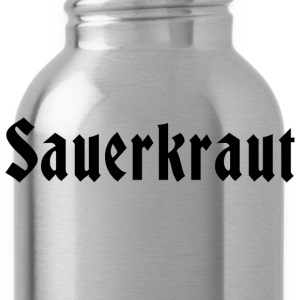 German Sauerkraut T-Shirt - Water Bottle