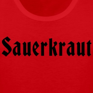 German Sauerkraut T-Shirt - Men's Premium Tank