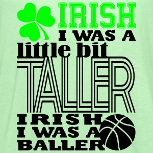 St. Patrick's Madness Irish Baller - Women's Flowy Tank Top by Bella