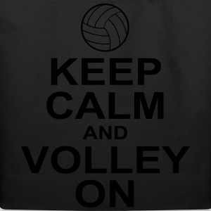 keep calm and volley on T-Shirts - Eco-Friendly Cotton Tote