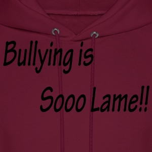 Bullying is Sooo Lame!! Kids Pink Tee - Men's Hoodie