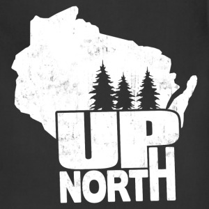 WISCONSIN UP NORTH T-Shirts - Adjustable Apron