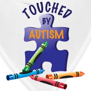 Touched by Autism T-Shirts - Bandana