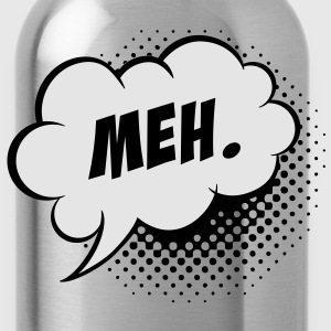 Like a cool story meh. comic Speech balloon cloud Kids' Shirts - Water Bottle