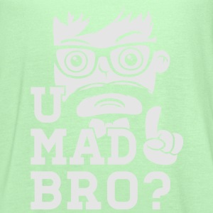 Like a swag cool u mad story bro moustache style Kids' Shirts - Women's Flowy Tank Top by Bella