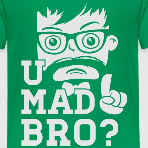 Like a swag cool u mad story bro moustache style Kids' Shirts - Toddler Premium T-Shirt
