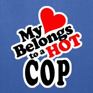 My Heart Belongs to a HOT Cop - Tote Bag