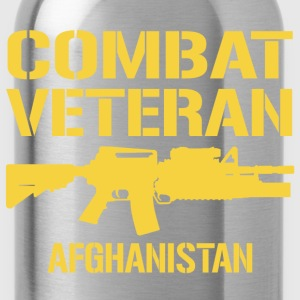 Combat Veteran Afghanistan - Water Bottle