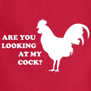 Are you looking at my cock? - Adjustable Apron