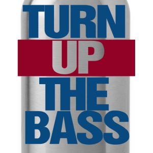 turn up the bass - Water Bottle
