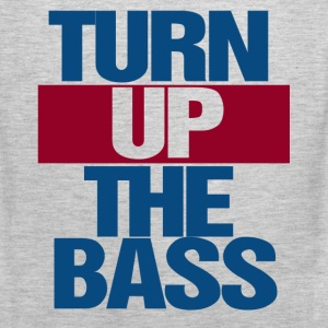 turn up the bass - Men's Premium Tank