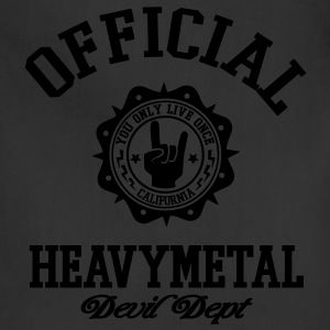 heavy metal T-Shirts - Adjustable Apron