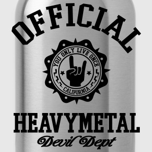 heavy metal T-Shirts - Water Bottle