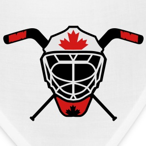 Hockey Goalie Mask Helmet Canada T-Shirts - Bandana