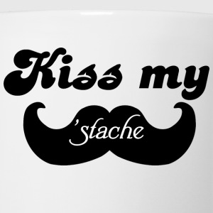 Kiss my Stache T-Shirts - Coffee/Tea Mug