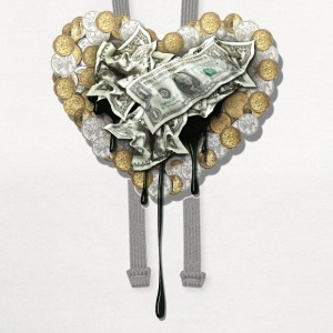 the love of money - Contrast Hoodie