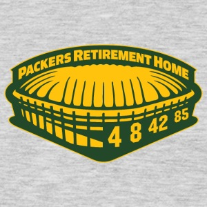 PACKERS RETIREMENT HOME Women's T-Shirts - Men's Premium Long Sleeve T-Shirt