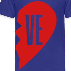 ve - love right side Kids' Shirts - Toddler Premium T-Shirt