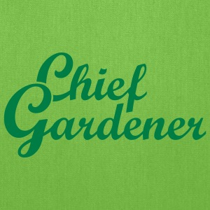 Gardening T-Shirts Chief Gardener - Tote Bag