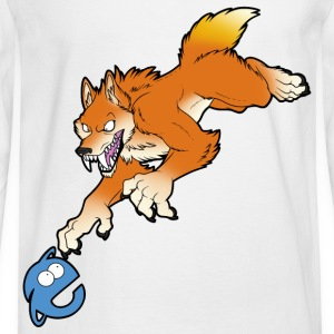 FireFox Wolf - Men's Long Sleeve T-Shirt