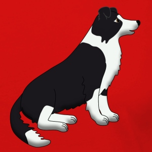 border collie sit T-Shirts - Women's Premium Long Sleeve T-Shirt