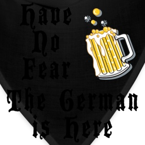 Have No Fear The German Is Here T-Shirt - Bandana