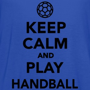 Keep calm and play Handball Kids' Shirts - Women's Flowy Tank Top by Bella