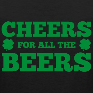 Cheers For All The Beers - Men's Premium Tank