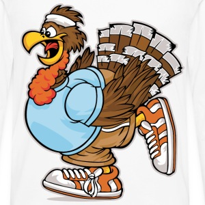 turkey run - Men's Premium Long Sleeve T-Shirt