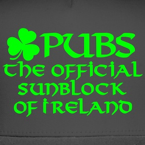 Pubs, the official sunblock of Ireland Women's T-Shirts - Trucker Cap