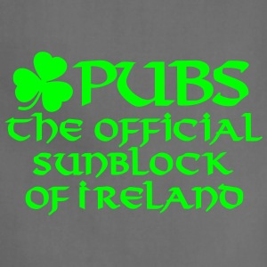 Pubs, the official sunblock of Ireland Women's T-Shirts - Adjustable Apron