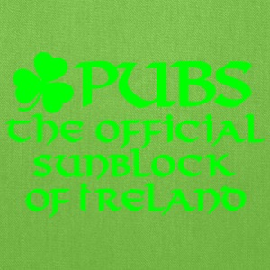 Pubs, the official sunblock of Ireland Women's T-Shirts - Tote Bag