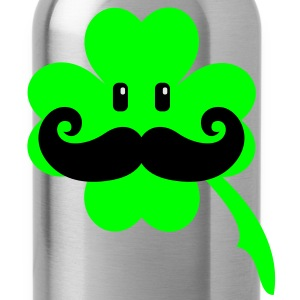 Irish mustache (3c) Kids' Shirts - Water Bottle