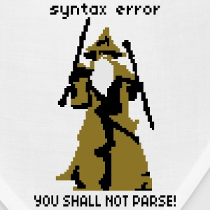 YOU SHALL NOT PARSE T-Shirts - Bandana