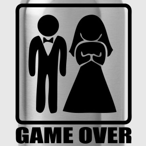 Marriage game over - Water Bottle